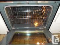 This Whirlpool stove was used in a inlaw suite kitchen