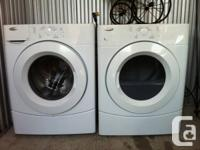 The Whirlpool YWED9050XW front load electric dryer