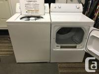 Whirlpool washer & General Electric Dryer Whirlpool