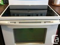 30 inches white Whirpool stove on sale for 250$. It is