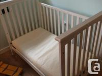 Child Craft Crib in good condition. Mattress can be at
