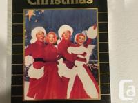 White Christmas VHS Tape with Bing Crosby, Danny Kaye,