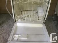 I have an older FRIGIDAIRE Dishwasher in White, which
