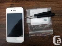 Selling an IPhone 4S. I believe my friend had found it