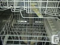 White Kitchenaid Dishwasher with Stainless Steel