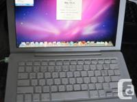 Freshly installed 13 inch macbook ready to go, as shown