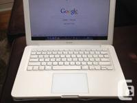 FOR SALE A WHITE MACBOOK BOUGHT IN 2010 FOR 1200$ NOW