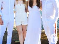 Selling a white romper from Dynamite worn once to Diner