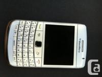 I have a white Blackberry Bold with Telus.  Asking 150