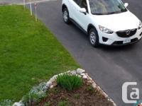 Make. Mazda. Design. CX-5. Year. 2014. Colour. white.