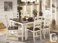 With the warm two-tone look of the cottage white and