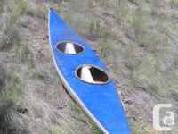 2 person river canoe/kayak, built for slalom courses, a