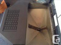 Whitfield pellet stove in good shape. 40,000 btu. Holds