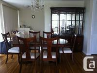 Luxurious Dining Room Suite  Cherrywood luxurious