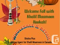 Shisha Plus The Exclusive Agent For Khalil Maamoon In