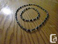 Brand New Black Magnetic Hematite Jewelery - $600 for
