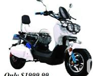 WHY BUY AN UNDER POWERED GAS SCOOTER OBTAIN ELECTRIC -