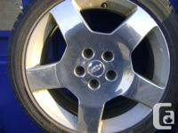UP FOR SALE : Bunch of Factory Alloy Rims for : ACURA,