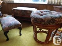 Complete with cushions, several pieces -would consider