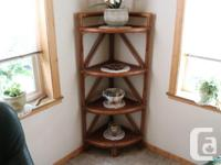 Wicker table with 2 Captains Chairs and 2 regular