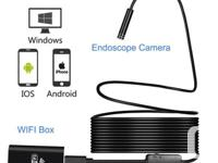 WIFI Endoscope Waterproof Borescope Inspection Camera 8
