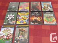 Wii and Gamecube games for sale.  All are in excellent
