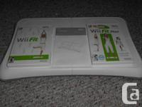 Wii balance board+wii fit+wii fit plus  wii fit balance