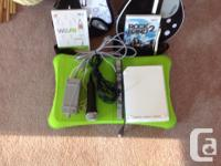 Wii games for home. Includes drums, sticks and 2