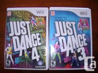 I have the following Nintendo Wii games for sale.