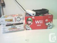 I'm offering this all for $75.00 GAMES- -Mario Kart