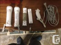 Hello I have four Wiimotes or Wii controllers,