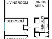 # Bath 1 Sq Ft 850 Pets No Smoking No # Bed 2 2 bedroom
