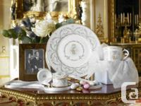 Collector's item: William and Kate decorative plate and