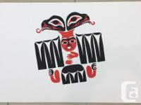 """This is a First Nations print by William Good """"Healing"""