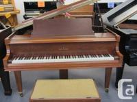 Willis 5' Baby Grand for sale.  This is an older grand for sale  British Columbia