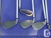 For is a set of Wilson Fat Shaft Irons 5 to Lob Wedge,