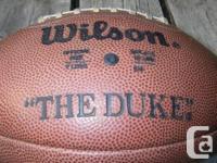 "Vintage Wilson ""Pete Rozelle"" commissioner signed"