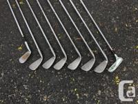 Selling a set of Wilson golf clubs. Includes irons 3,