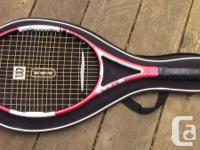 Hi there ! I have two racquets of varying qualities.
