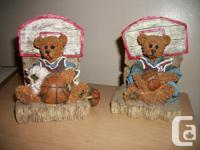 I am selling a set of 2 basketball theme bears - one
