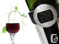 GadgetPlus.ca    Item: Wine Bottle Digital Thermometer