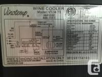 New, Never used - Vino Temp 34 bottle wine & beverage