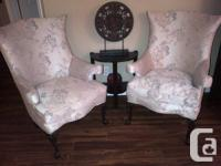 STUNNING!!!!!!!!!!!!!!!!!  Two identical wingback