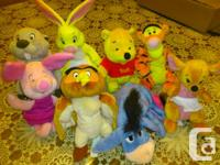 Winnie the Pooh Set $50 OBO and Beanie Bears Collection