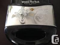VillaWare Winnie The Pooh Waffler  Makes fun Pooh and