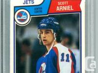 Great addition to any hockey card collection:  $22 -
