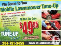 Lawnmower & Snowblower together $89.95 BOOK Online