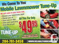 Lawnmower & Snowblower Tuned-Up together is only