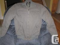 Topline Wears winter coat, size medium, in like new