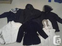 I have some ladies winter coats and spring jackets for for sale  Ontario
